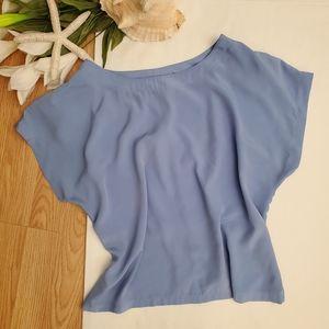 *Perfect Fit Blue Vintage Blouse*
